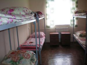 комната в женском хостеле