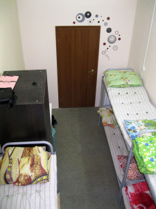 Комната в женском общежитии