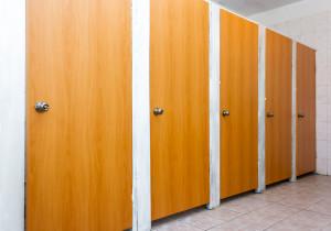 уборная в женском общежитии